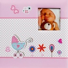 HENZO album klas. BABY MOMENTS   25x24,5 40s., růžové