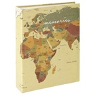 HAMA album WORLD MAP, 10x15cm/200 foto (memo)