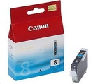 CANON náplň CLI8C Cyan (single ink tank)