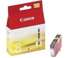 CANON náplň CLI8Y Yellow (single ink tank)