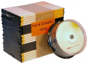 KODAK Archive DVD / 25-pack + case / WW