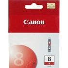 CANON náplň CLI8R Red (single ink tank)